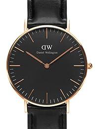 CLASSIC BLACK(DW00100139)メンズ& レディース腕時計Daniel Wellington ダニエル ウェリントン 36mm [並行輸入品]