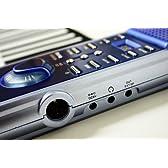 持ち運びできる電子ピアノ 超薄型!本格派キーボード[61鍵盤ロールアップピアノ] プレゼントにも最適 DS019