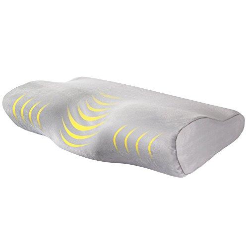 AYSHTR 低反発枕 安眠枕 健康枕 蝶型 睡眠質改善 いびき防止 頚椎ケ...