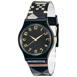 [フィールドワーク]Fieldwork 腕時計 マハロ アナログ表示 ブラック QKS092-6 レディース