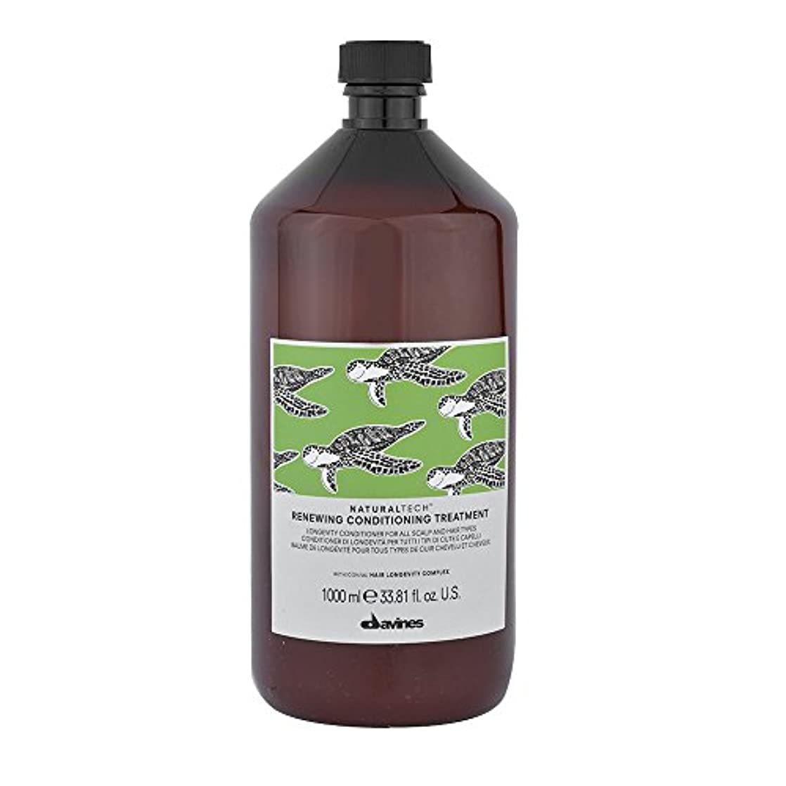 子豚荒らす理論ダヴィネス Natural Tech Renewing Conditioning Treatment (For All Scalp and Hair Types) 1000ml/33.81oz並行輸入品