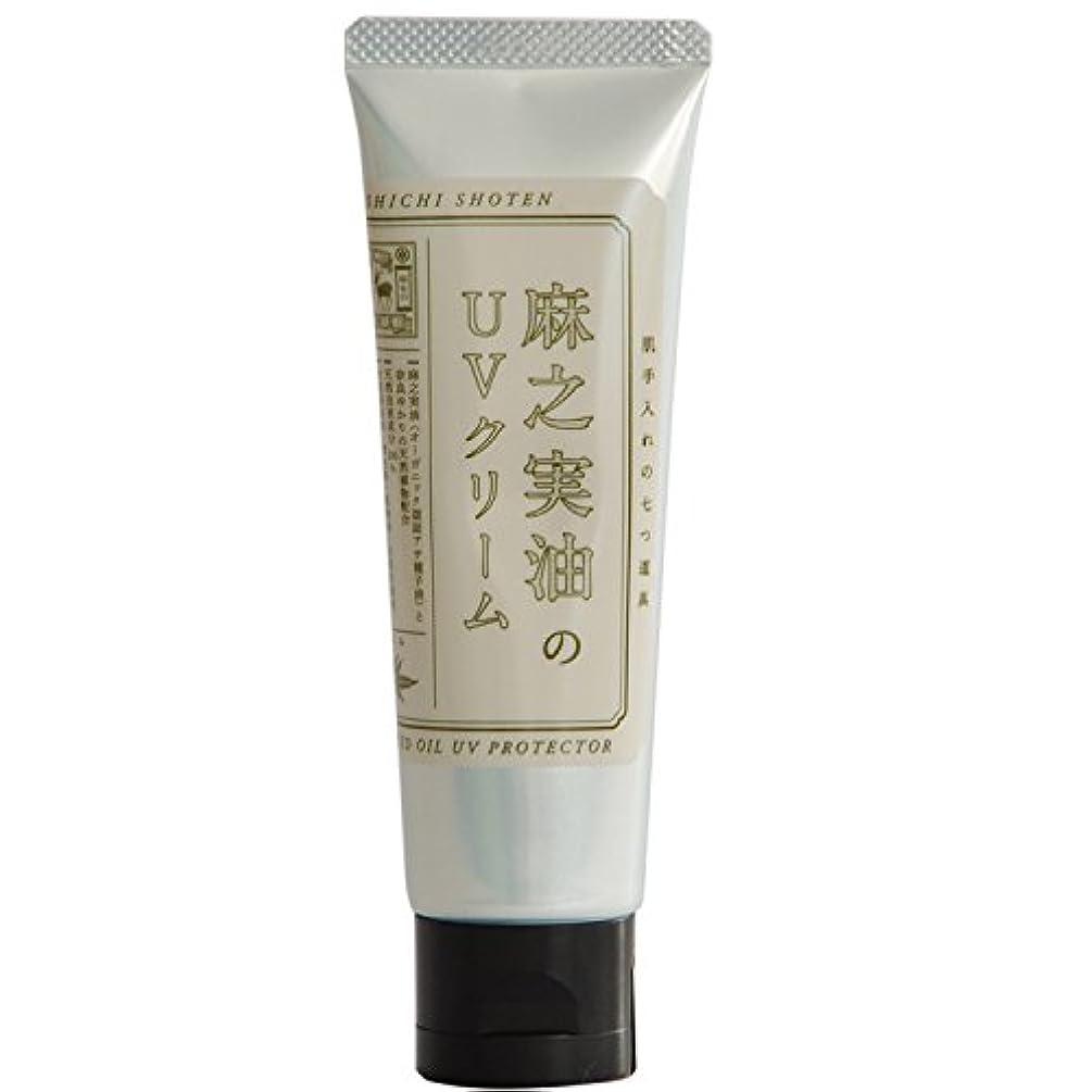 引退する鉄道駅浴中川政七商店 麻之実油のUVクリーム 60g