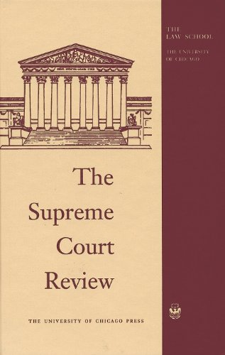 Download The Supreme Court Review 2018 022664622X