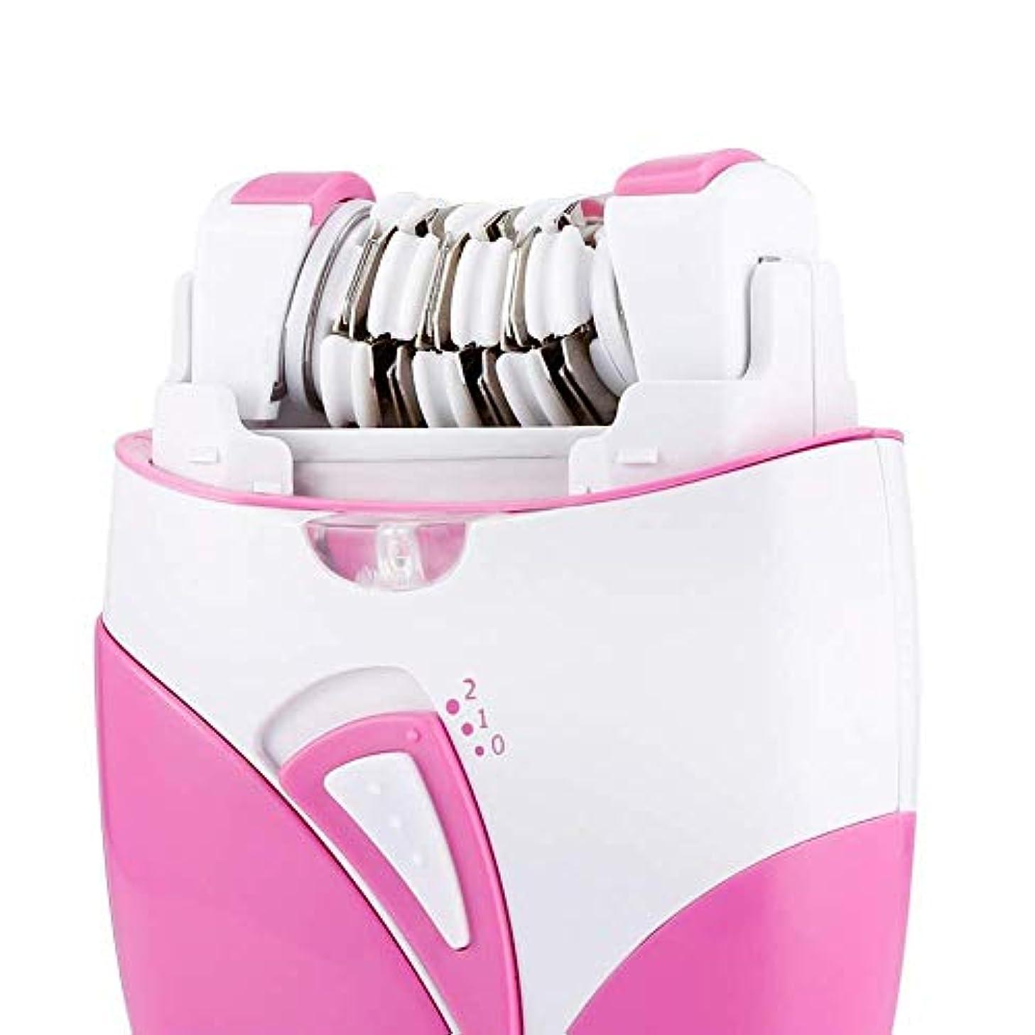 趣味ハンバーガービーチBBONE女性用脱毛器USB充電脱毛機コードレス電気充電式レディーシェービング照明付きライトビキニトリマーフェイシャルボディ脇の下脱毛器、ピンク、10.5 * 6.9cm、ピンク,Pink
