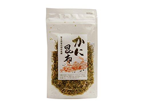 かに昆布80g 蟹とこんぶの相性抜!炊き立てのご飯と一緒にお楽しみください。(生ふりかけ ごはんの友 カニコンブ)