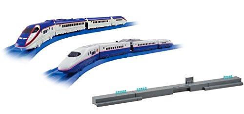 プラレールアドバンス E3系新幹線つばさ E2系新幹線連結