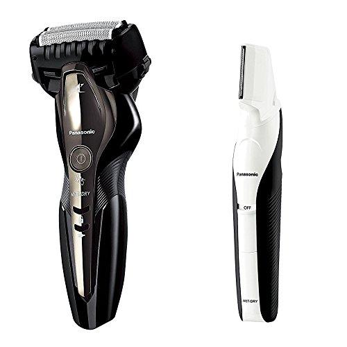 パナソニック ラムダッシュ メンズシェーバー 3枚刃 黒 ES-ST2P-K + ボディトリマー 男性用 セット