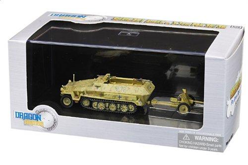 1:72 ドラゴンモデルズ アーマー コレクター シリーズ 60637 Hanomag Sd.Kfz.251 Schutzen装甲車wagen ディスプレイ モデル ドイツ軍 4.PzDiv 12.P