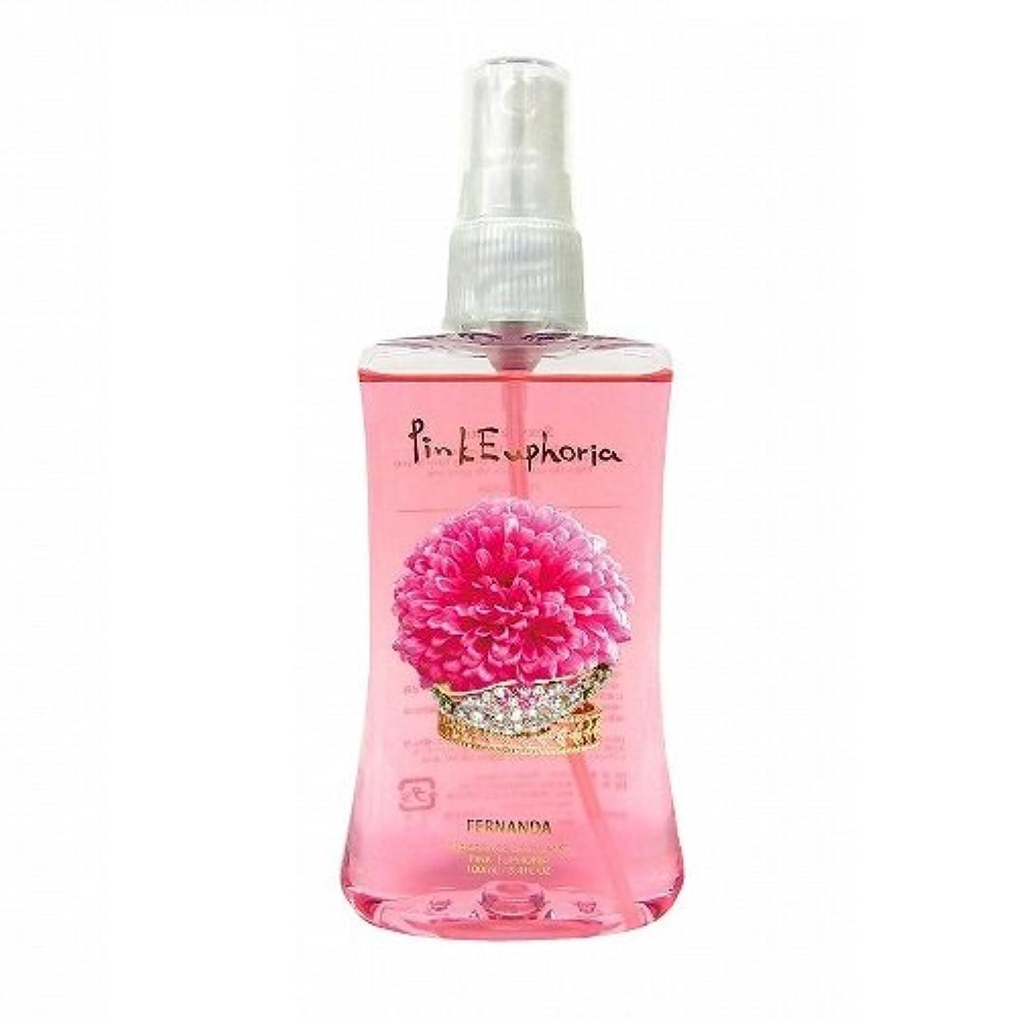 クック優れました日没FERNANDA(フェルナンダ) Body Mist Pink Euphoria (ボディミスト ピンクエウフォリア)