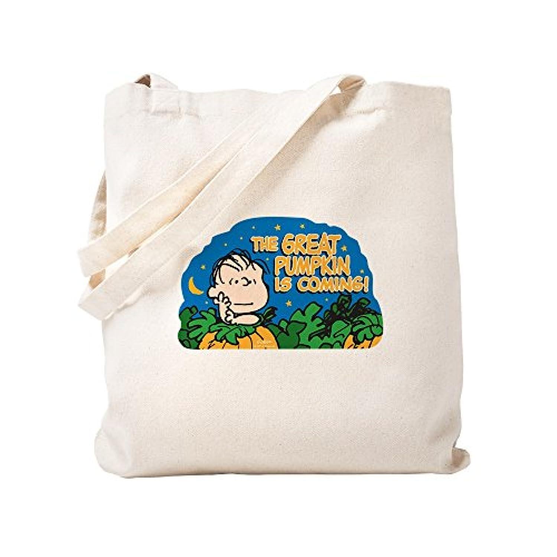CafePress – the Peanuts Gang : Great Pumpkin – ナチュラルキャンバストートバッグ、布ショッピングバッグ S ベージュ 1326073368DECC2