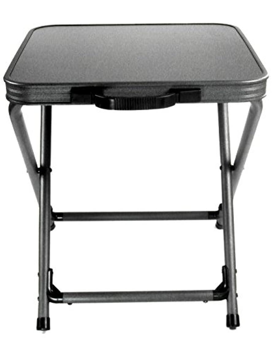 スペードテスピアン障害カンパ軽量折りたたみフィレンツェスツール&テーブルセット - 安定