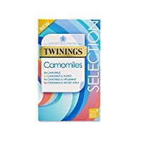 Twinings Camomiles Selection 28.75g - 20 Envelopes (Pack of 2) - トワイニング選択28.75g - 20封筒をCamomiles (x2) [並行輸入品]