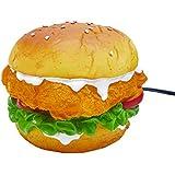 アメリカン ナイト ランプ ハンバーガー フットランプ ライト 照明 足下 間接照明 オブジェ ガレージ インテリア おしゃれ アメリカンダイナー アメリカン雑貨4560280837476