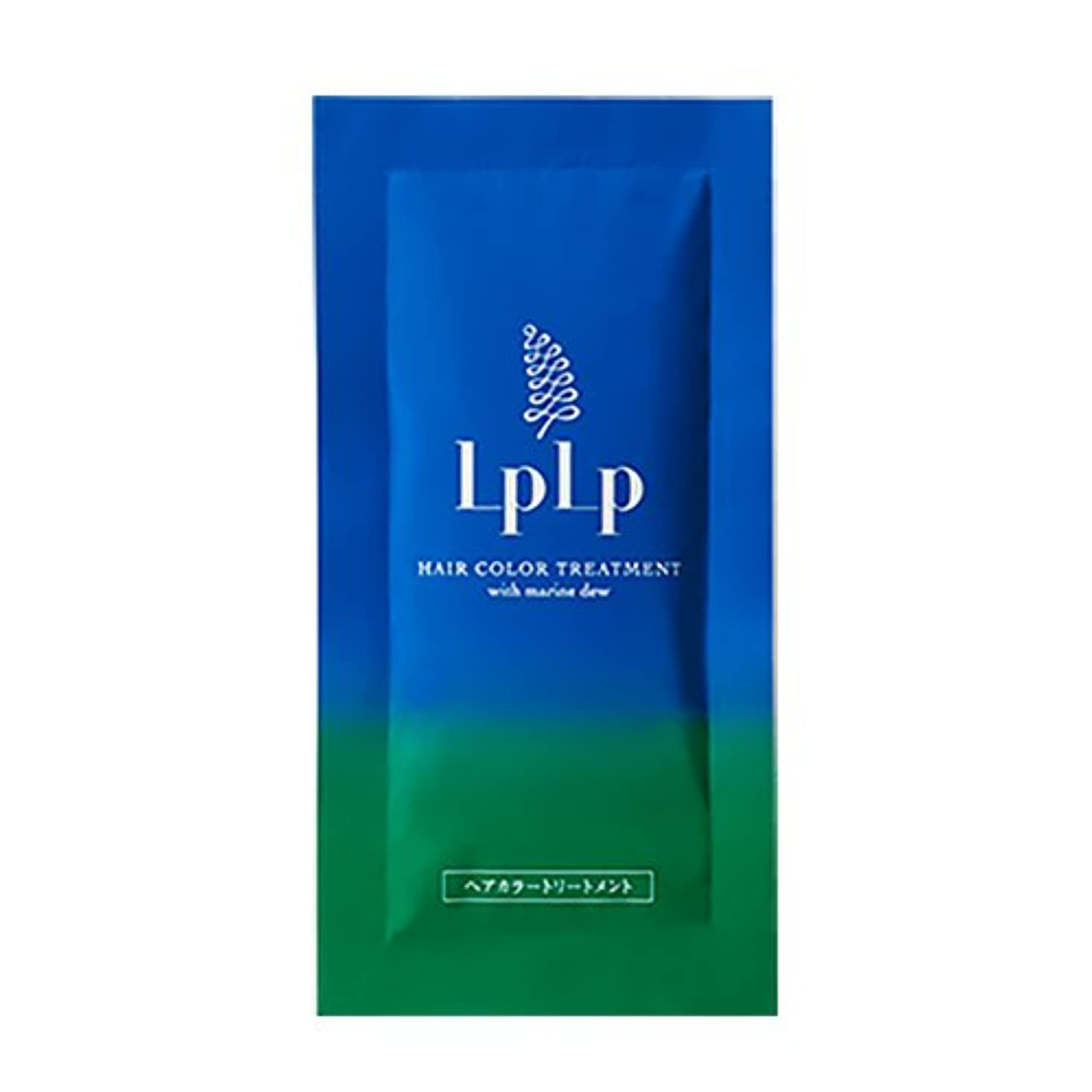 テーブルラグ粘液LPLP(ルプルプ)ヘアカラートリートメントお試しパウチ ソフトブラック