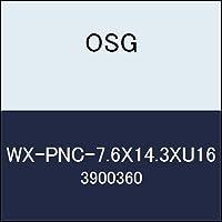 OSG 超硬ラジアス WX-PNC-7.6X14.3XU16 商品番号 3900360