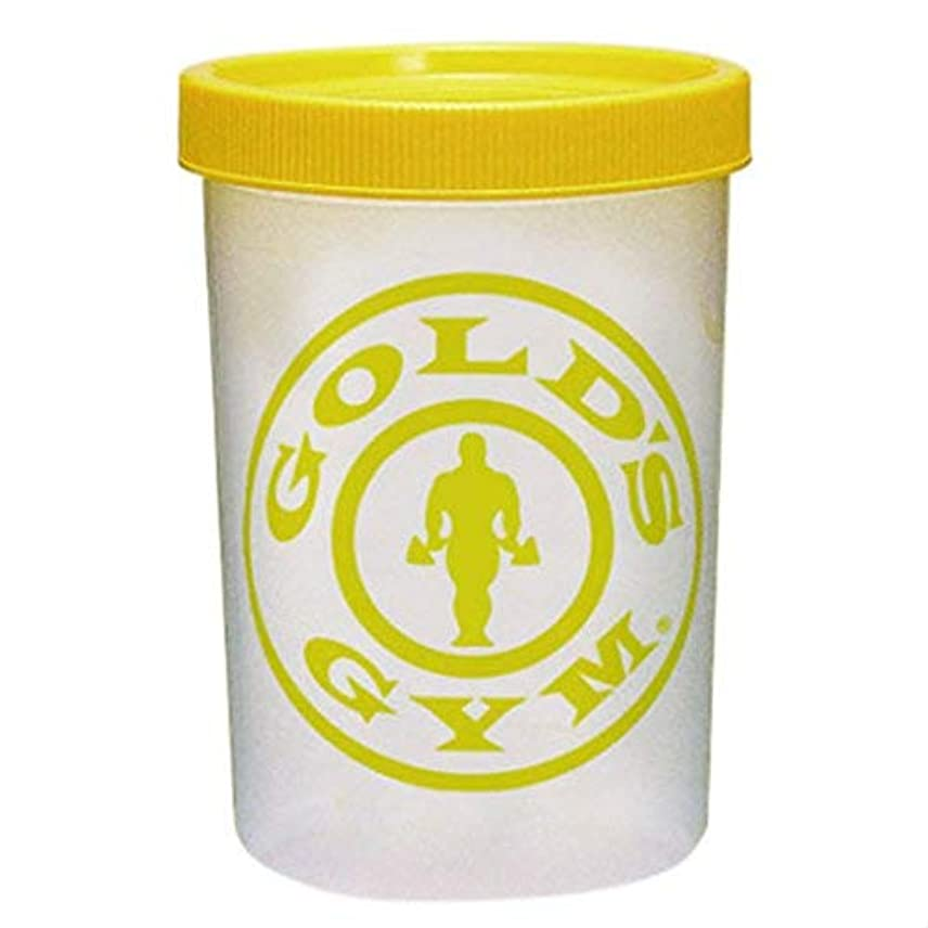 水銀のライドくちばしゴールドジム プロテインシェイカー 400ml