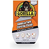 "Gorilla Tape, Crystal Clear Duct Tape, 1.88"" x 9 yd, Clear"