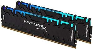 キングストン Kingston デスクトップPC用メモリDDR4-2933 8GBx2枚 HyperX Predator RGB HX429C15PB3AK2/16 RGB LED搭載 永久保証