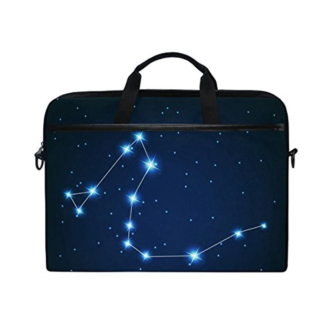 若者明らかにする採用UKIO(ユキオ) ビジネスバッグ パソコン収納 インナーバッグ 保護用スリーブカバー PCケース りゅう座 夜空 きらきら 星 15.4インチ