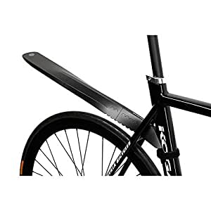 Fendor Bendor Rear Cycle mudguard folding removable Bike guard Black by WiT [並行輸入品]