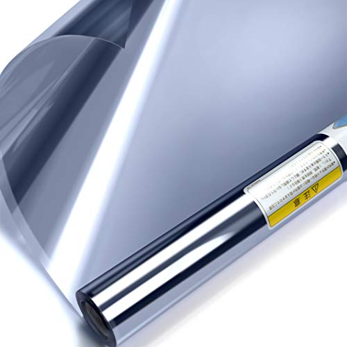 窓断熱シート マジックミラー フィルム ガラス透明断熱フィル...