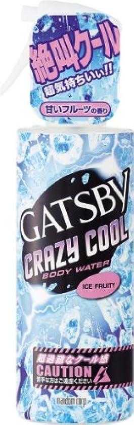 あいさつ消毒剤放課後GATSBY(ギャツビー) クレイジークール ボディウォーター アイスフルーティ 170mL