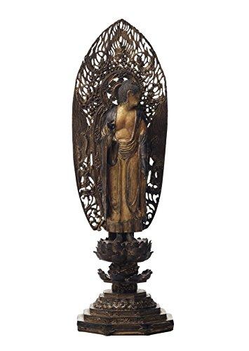 イスム TanaCOCORO(掌) 仏像 みかえり阿弥陀 ポリストーン