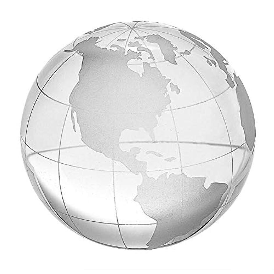 更新性別実験をする(イスイ)YISHUI 60mm 80mm グローブ ユーロッパ 文鎮 ギフトボックス付き世界地図 クリスタルガラスボール球ホーム 飾り物 お土産 おみやげ 誕生日 お祝い オフィスの装飾ギフト HP0174 (60mm)