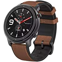 Amazfit GTR 47mm - Aluminium Alloy - Smartwatch with GPS+GLONASS, All-Day Heart Rate Monitor, Activity Tracker, 24-Day Battery Life, 12-Sport Modes