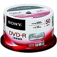 SONY ビデオ用DVD-R CPRM対応 120分 1-16倍速 スピンドルケース 50枚パック 50DMR12MLDP
