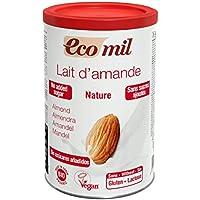 EcoMil 有機アーモンドミルク ストレート(パウダー/砂糖不使用)400g