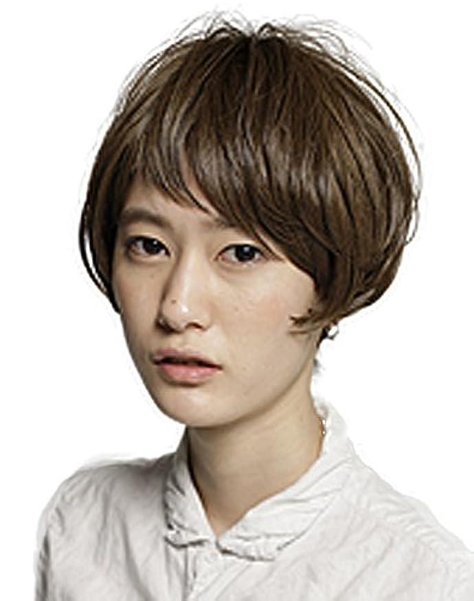 韓国語実証する周りTHREE ION(スリーイオン) LIM ミニマムマッシュショート 006 Ash Brown