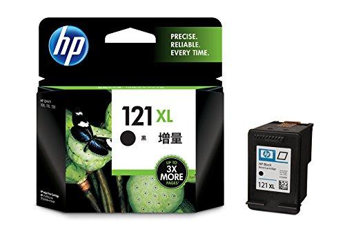 HP 121XL インクカートリッジ 黒 ( 増量 ) CC641HJ