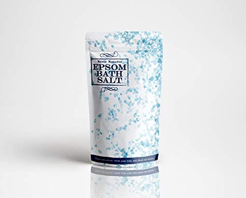 レインコート命令ほこりEpsom Fine Bath Salt - 250g