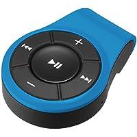 グリーンハウス Bluetooth ブルートゥース ワイヤレスオーディオレシーバー Bluetooth 4.0 準拠 通話対応 マイク 搭載 クリップ付 GH-BHRA-BL ブルー