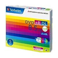 (業務用セット) 三菱電機 データ用DVD+R ダブルレイヤー 8.5GB ホワイトレーベル 個別ケース 5枚入 【×3セット】