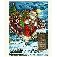 Boxedクリスマスカード–Rooftop Santa–12パック