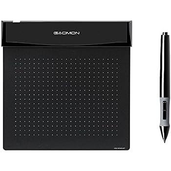 GAOMON 6 x 5インチペンタブS56K ゲーム用薄型で柔軟性のあるぺんタブレットサインボード (S56K)