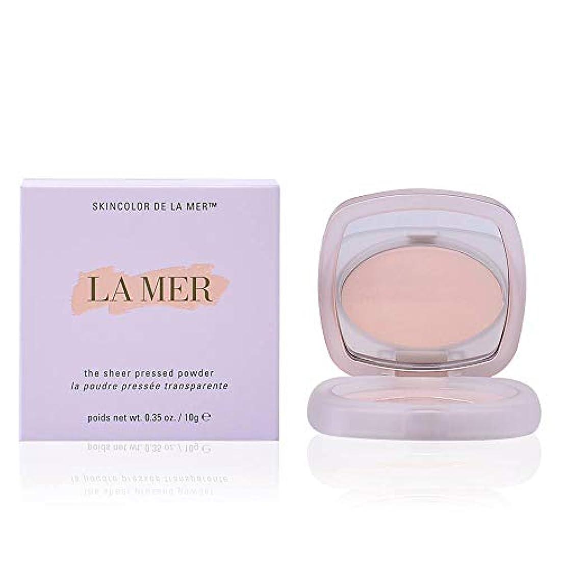 ラッチ可動式バケツドゥラメール The Sheer Pressed Powder - # Translucent 10g/0.35oz並行輸入品