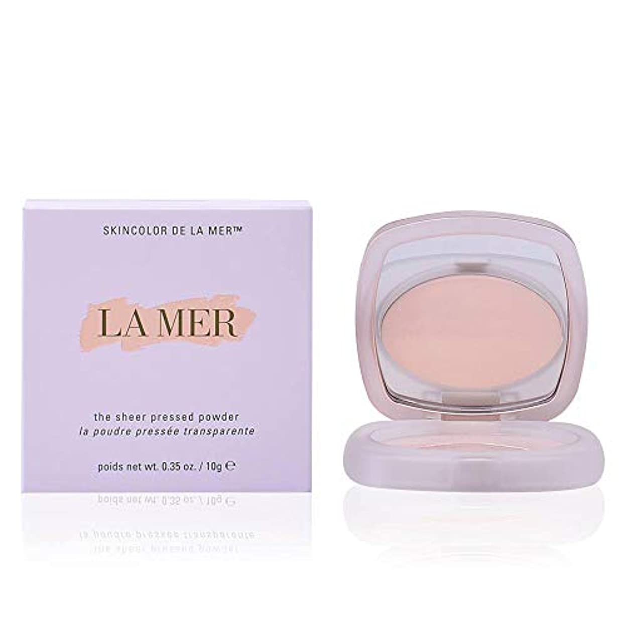 路地不規則なスクリュードゥラメール The Sheer Pressed Powder - # Translucent 10g/0.35oz並行輸入品
