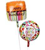 誕生日 バースデー お祝い 装飾 風船 バルーン電報 バルーンギフト スイーツ風な美味しい誕生日ミニブーケ