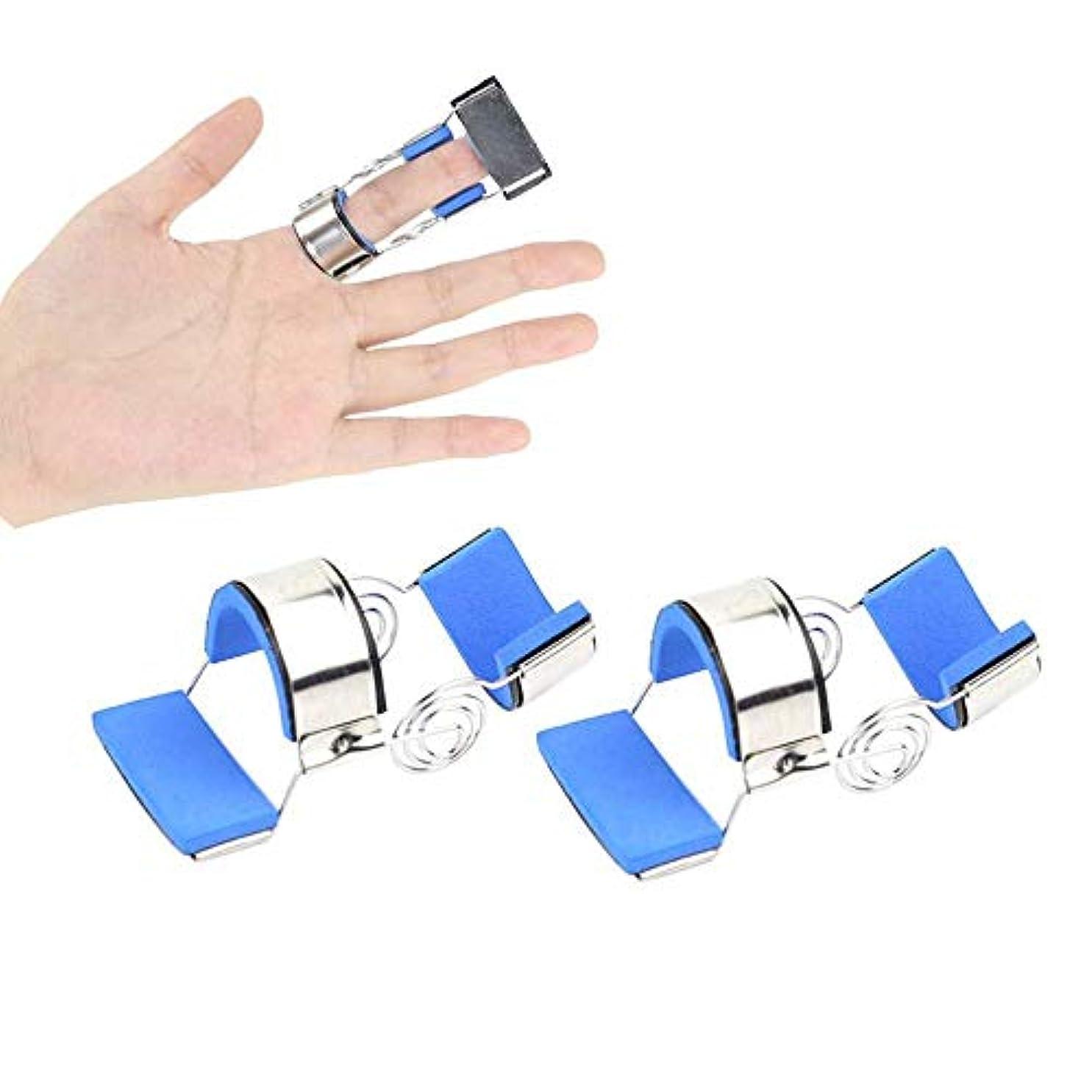 バーターマングル苛性指の負傷サポート、骨折固定スプリント関節炎圧痛緩和リハビリテーション訓練,M