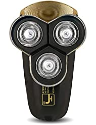 メンズ電気シェーバー/USB充電コードレスひげトリマー、防水/ウェット&ドライ、ギフト