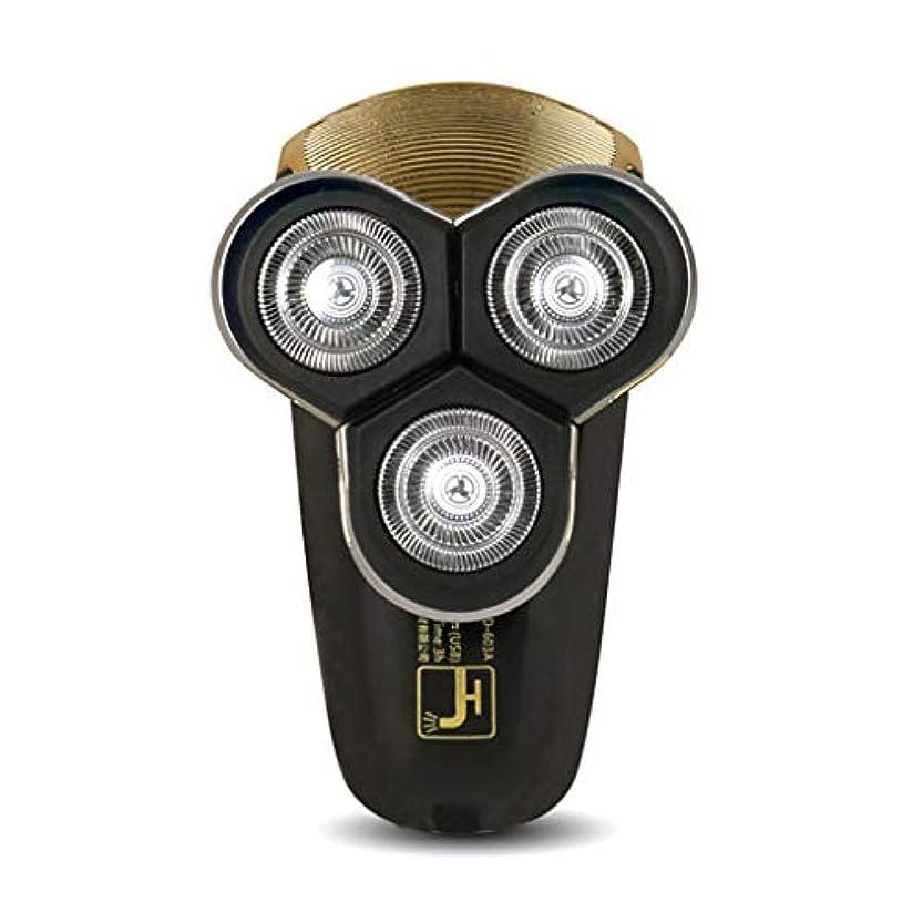 習熟度西部精査するメンズ電気シェーバー/USB充電コードレスひげトリマー、防水/ウェット&ドライ、ギフト