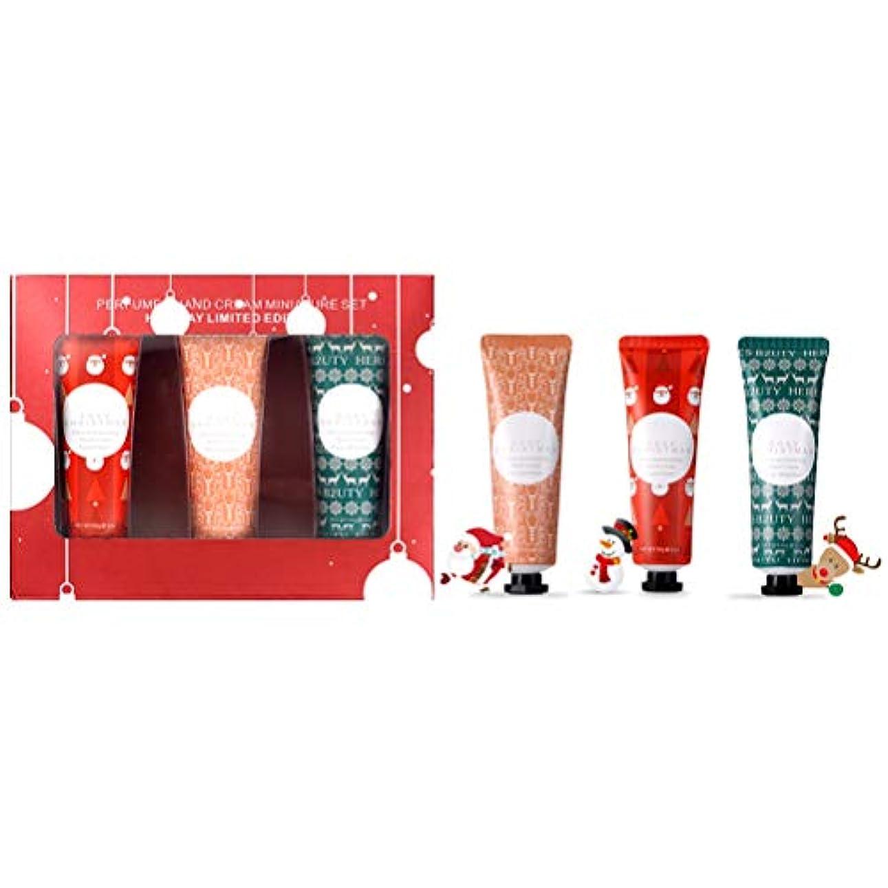 通常ファーザーファージュ流暢Blight 3Pcsハンドクリーム 保湿ハンドクリーム ハンドケア クリスマスハンドクリーム クリスマスプレゼント