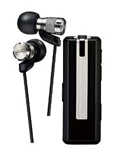 JVC HA-FBT80 ワイヤレスカナル型ヘッドセット Bluetooth対応 ガンメタリック