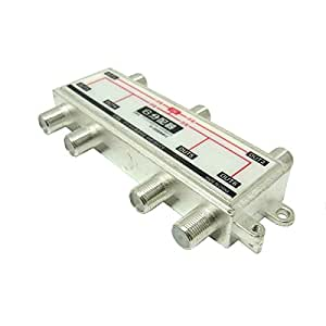 BS/CS/UHF/VHF/FM/地デジ対応6分配器 全端子通電型 BL-0056TV