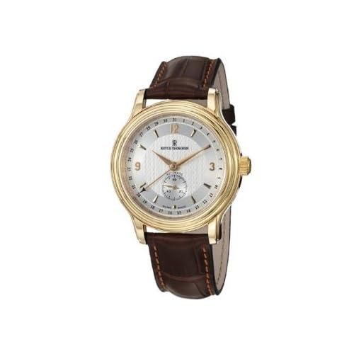 [レビュートーメン]Revue Thommen Men's 14200.2512 Classic Brown Leather Strap Watch 腕時計 [並行輸入品]