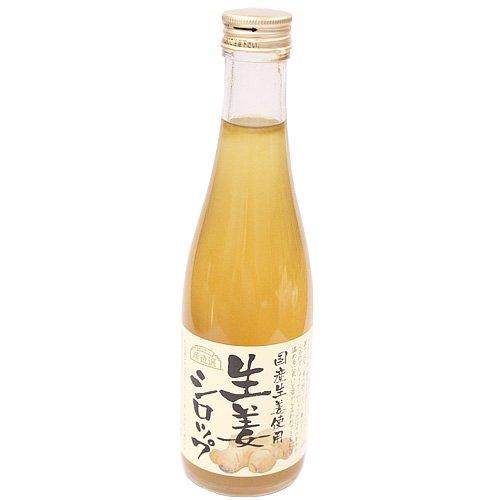ホームメイドショップkikuya 国産生姜使用 生姜シロップ 300ml