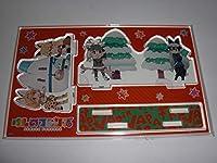 けものフレンズ 吉崎観音先生描き下ろしアクリルスタンド単品 クリスマス サーバルケーキ 購入特典